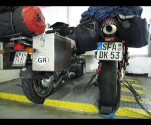 Στην Ευρώπη με μοτοσυκλέτα
